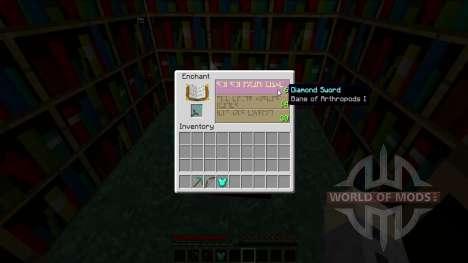 Видимое зачаровывание для Minecraft