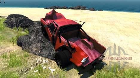 Gavril D-Series Dually 2 для BeamNG Drive