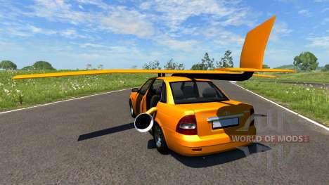 ВАЗ-2170 Priora Plane для BeamNG Drive