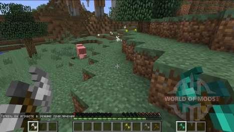 Новая система боя для Minecraft