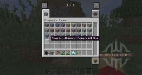Сдвоенные рудные жилы для Minecraft