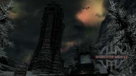 Комплект брони довакина для Skyrim