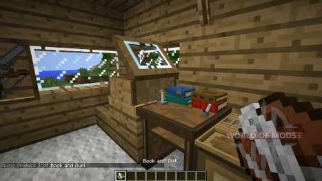 Новые книжные полки для Minecraft