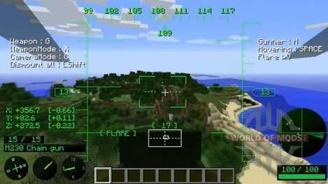 Вертолёты для Minecraft