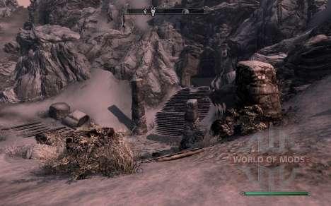 Доспехи и оружие dragon Knight из dota 2 для Skyrim второй скриншот