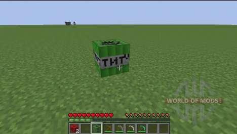Мощный динамит для Minecraft