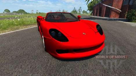 Porsche Carrera GT для BeamNG Drive