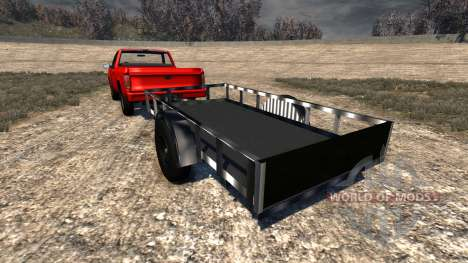 Gavril D-Series Trailer для BeamNG Drive