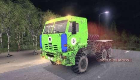 Пак грузовиков v9.0 для Spin Tires