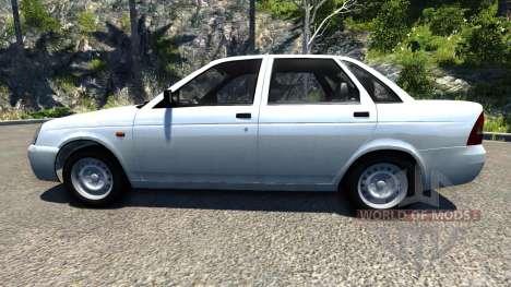 ВАЗ-2170 Lada Priora для BeamNG Drive