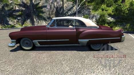 Cadillac Series 62 Convertible 1949 для BeamNG Drive