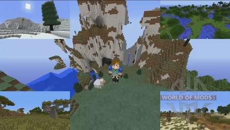 Улучшенные биомы для Minecraft