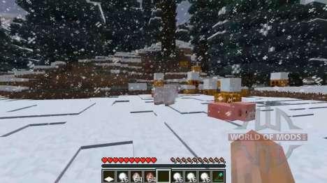 Глубокий снег для Minecraft