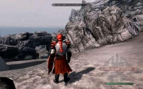 Доспехи и оружие dragon Knight из dota 2 для Skyrim