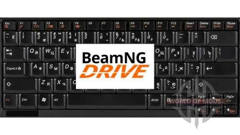 Замена стандартного управления для BeamNG Drive