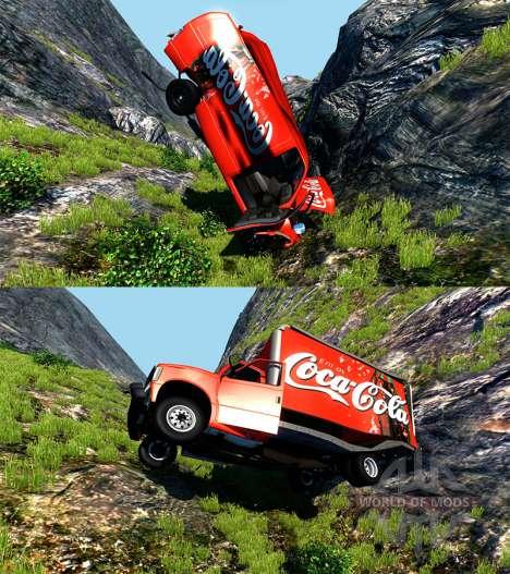 Gavril H-Series Coca-Cola для BeamNG Drive