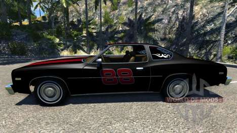 Bruckell Moonhawk The Fast and the Furious для BeamNG Drive