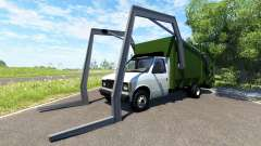 Gavril H-Series Garbage Truck для BeamNG Drive