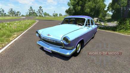 ГАЗ-21 Волга сток для BeamNG Drive