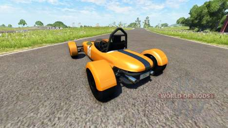 DSC Bora 2014 Orange для BeamNG Drive