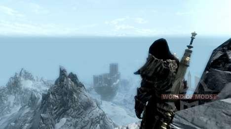 Ношение древнего свитка для Skyrim третий скриншот