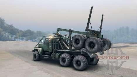 КрАЗ-255Л для Spin Tires