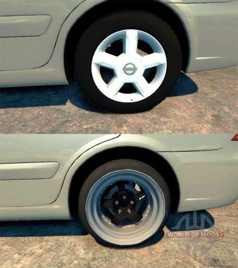 Nissan Almera Classic для BeamNG Drive