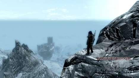 Ношение древнего свитка для Skyrim второй скриншот