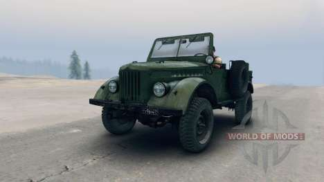 ГАЗ-69М v1.2 для Spin Tires
