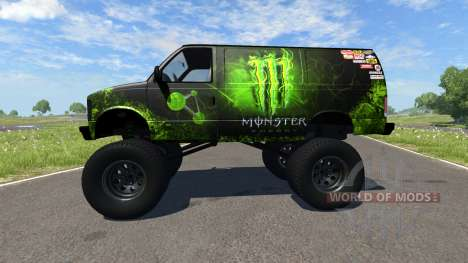 Gavril H-Series Monster для BeamNG Drive