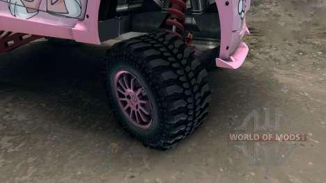 Mercedes Smart ForOne Supercharge 1 для Spin Tires