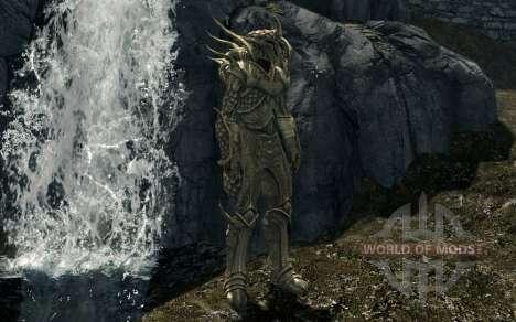 Броня и оружие из мода Gift Of Kynareth для Skyrim