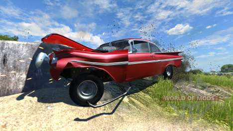 Chevrolet Impala Coupe 1959 для BeamNG Drive