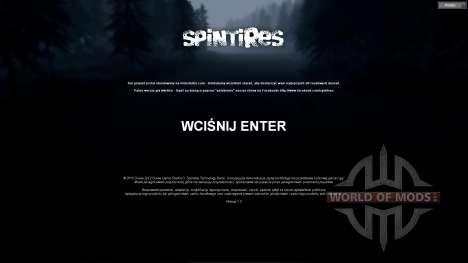 Польский перевод для Spin Tires