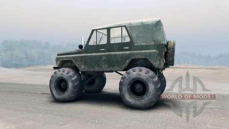 УАЗ-469 для Spin Tires
