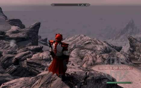 Доспехи и оружие dragon Knight из dota 2 для Skyrim шестой скриншот