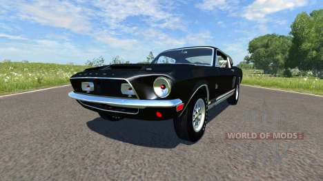 Ford Mustang Shelby Eleanor 1967 для BeamNG Drive