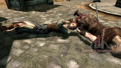 Лук паралича для Skyrim