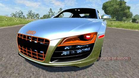Audi R8 Chrome для BeamNG Drive