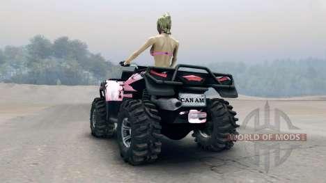 Квадроцикл Outlander v2 для Spin Tires