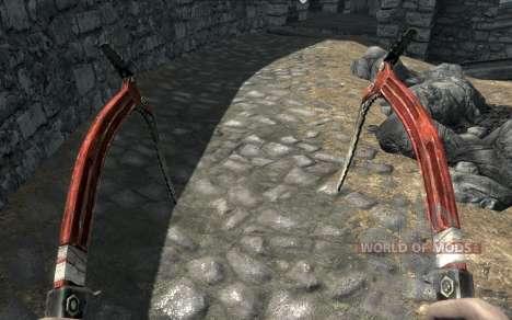 Одежда и оружие Лары Крофт для Skyrim четвертый скриншот