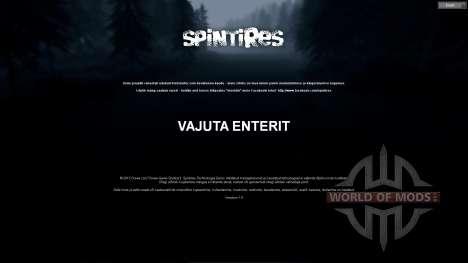 Эстонский перевод для Spin Tires