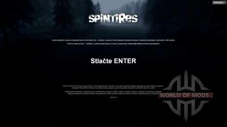 Словацкий перевод для Spin Tires