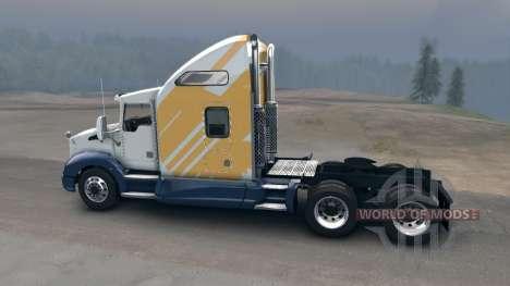 Kenworth T660 для Spin Tires
