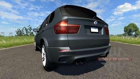 BMW X5M Grey для BeamNG Drive