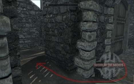 Одежда и оружие Лары Крофт для Skyrim шестой скриншот