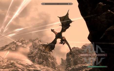Доспехи и оружие dragon Knight из dota 2 для Skyrim четвертый скриншот