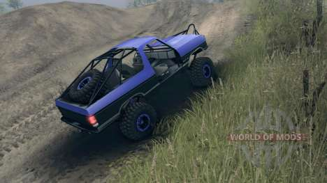 Dodge Ramcharger trail для Spin Tires