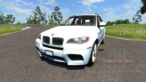 BMW X5M White для BeamNG Drive