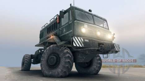 МАЗ-535 4x4 для Spin Tires
